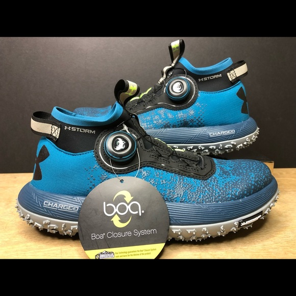 quality design e2374 2ee07 Under Armour UA Fat Tire 2 Trail Running BOA Shoes NWT